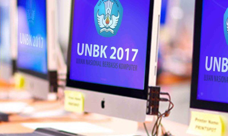 Pelaksanaan UNBK SMK HKTI 2 Tahun 2017