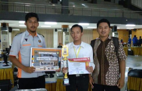 JUARA 3 INFECT Universitas Muhammadiyah Purwokerto Tingkat Nasional 2017