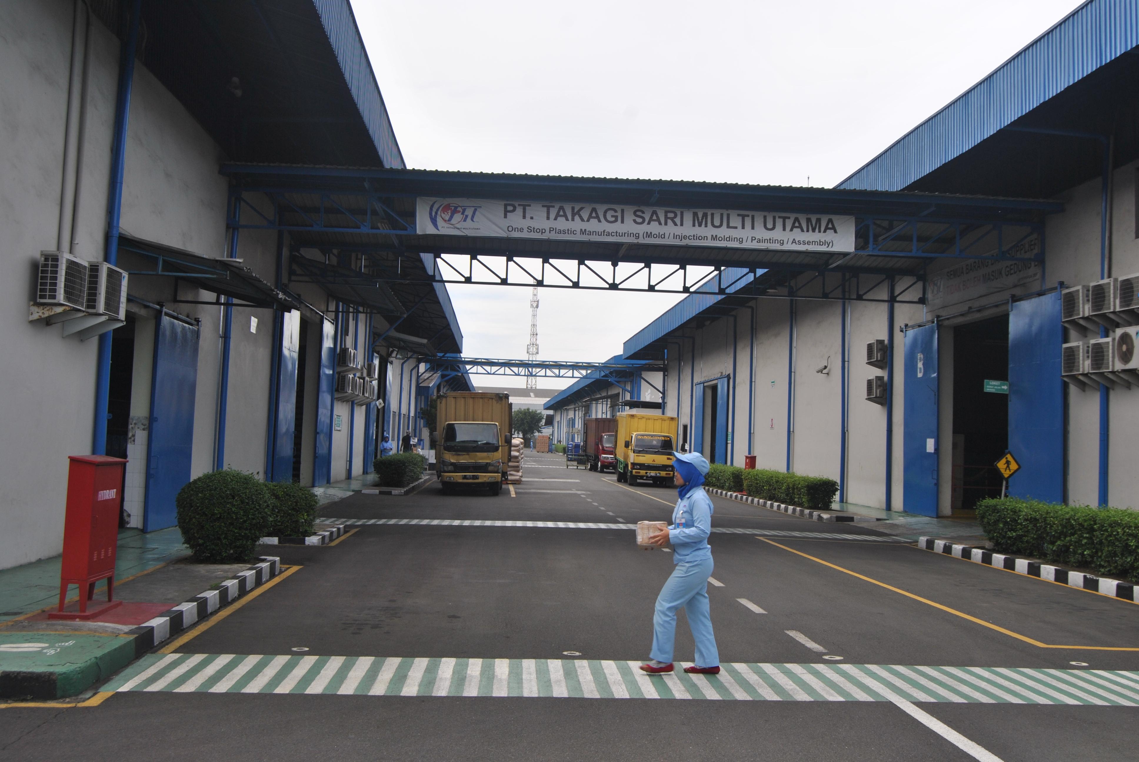 Kunjungan Industri SMK HKTI 2 di PT.Takagi 2016