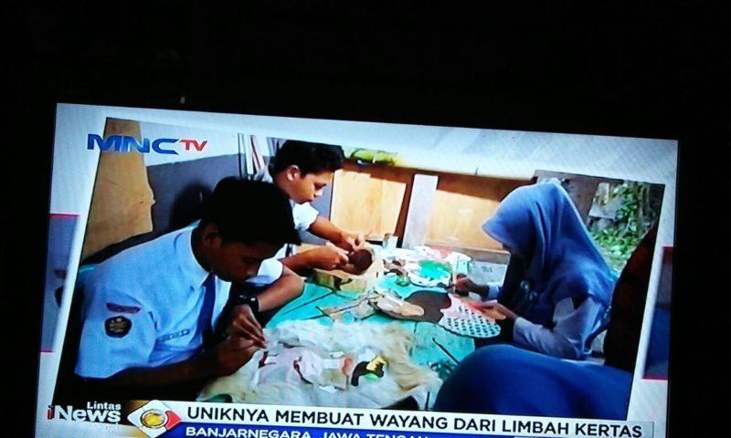 Ekskul Tatah Sungging SMK HKTI 2 Mendapat Apresiasi dari Media Berita Nasional