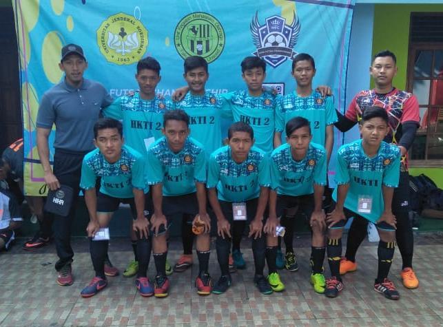 Tim Futsal SMK HKTI 2 Juara 3 Piala MIPA Unsoed Cup 2018