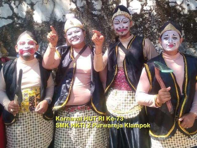 Karnaval dalam Rangka HUT RI Ke-73