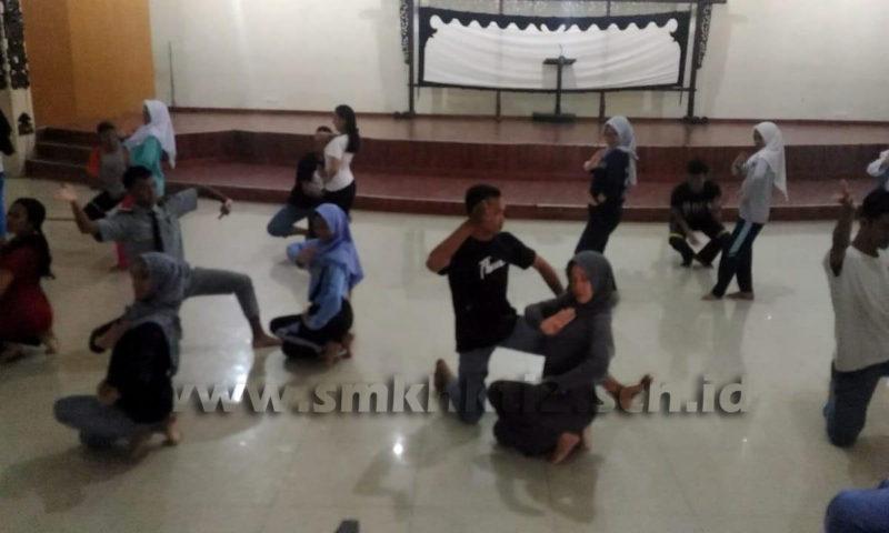 Persiapan Parade Seni Budaya Jawa Tengah, 10 Siswa SMK HKTI 2 Wakili Kabupaten Banjarnegara