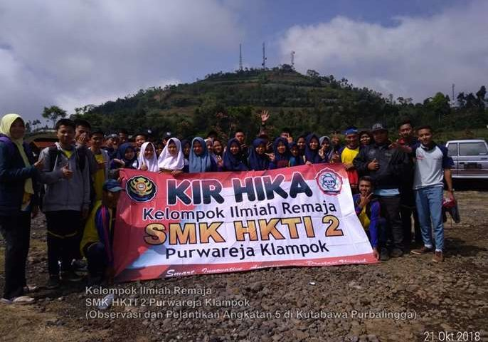 KIR HIKA : Observasi dan Pelantikan Angkatan 5 di Kutabawa Purbalingga