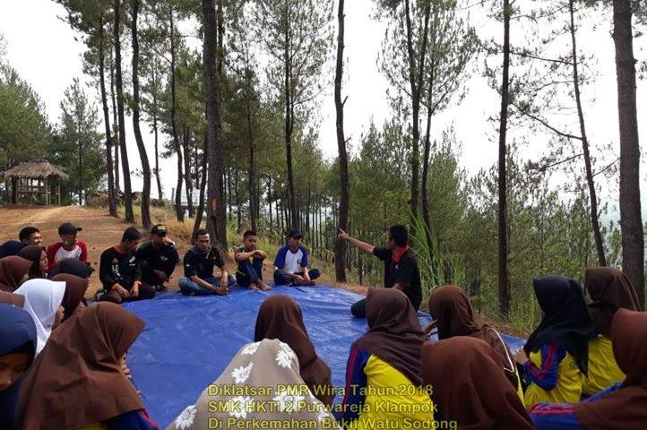 Diklatsar PMR Wira SMK HKTI 2 Tahun 2018