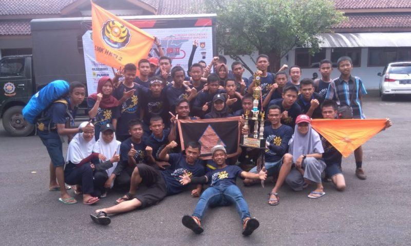 Tim Napak Tilas SMK HKTI 2 Raih Juara Umum