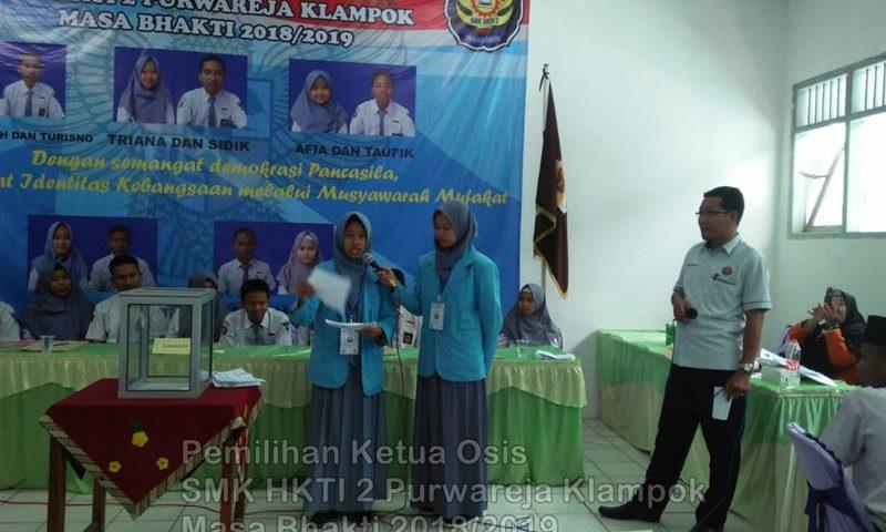 Pemilihan Ketua Osis 2018