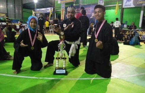 Dua Medali Emas Hantarkan Pencak Silat HKTI 2 Juara Umum Dua