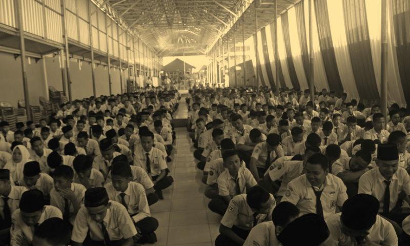 Video Acara Qur'anic Spiritual Building dalam MPLS 2019/2020 SMK HKTI 2